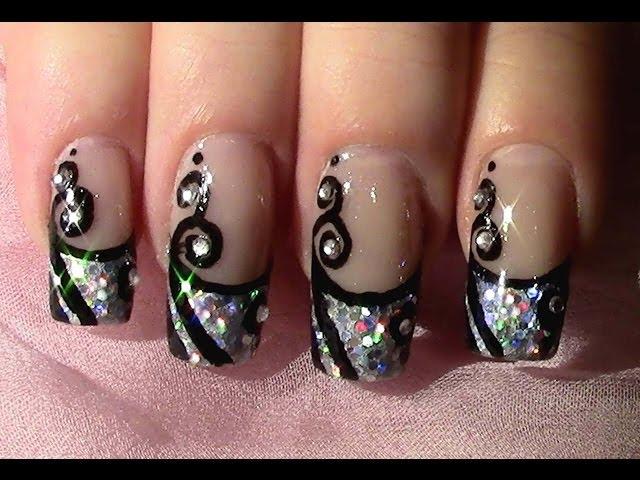 Nageldesign zum selber machen new year s eve nail art design