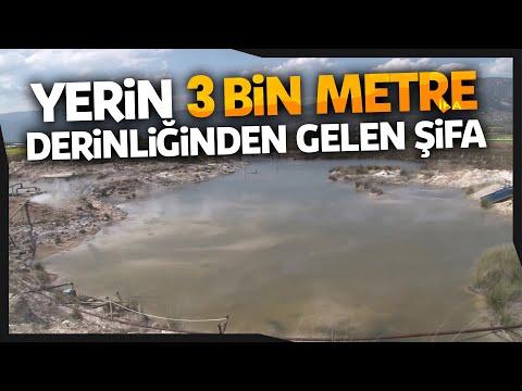 3 Bin Metre Derinlikten Çıkan Termal Su Tam Bir Şifa Deposu