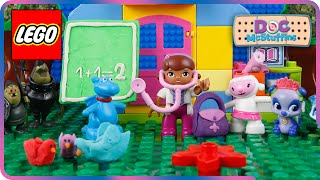 ♥ LEGO Doc McStuffins CHECK UP ADVENTURES (School Day, Check-up Time...)