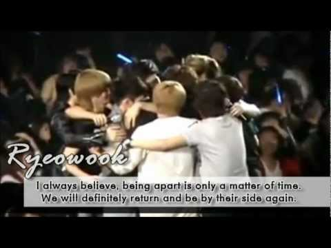 Super Junior's Message '' We're A Family ''