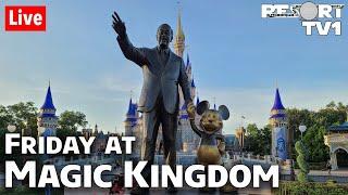 🔴Live: Friday Night Live at Magic Kingdom in 1080p - Walt Disney World Live Stream - 8-14-20