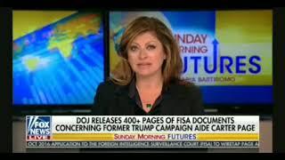 Bob Goodlatte Talks With Maria Bartiromo About Russia, The Dossier, FISA Documents, John Brennan,etc