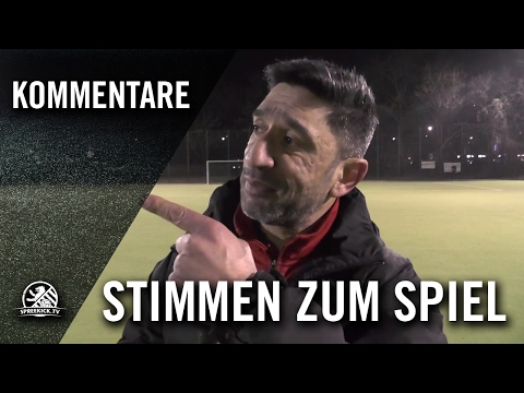 Die Stimme zum Spiel (1. FC Wilmersdorf - Hertha BSC, U17 B-Junioren, Achtelfinale, Pokal der B-Junioren 2016/2017) | SPREEKICK.TV