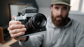 Is this cheap 6x6 Medium Format SLR worth buying? // Kiev 6C Review
