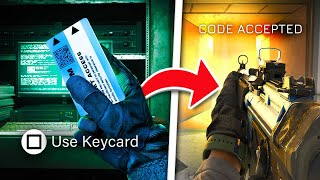 NEW BLUE KEYCARD EASTER EGG in Call of Duty WARZONE! (Season 5 Easter Eggs)