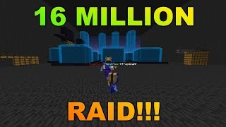 INSANE 16 MILLION DOLLAR RAID?! SaicoPvP [Magma Realm]