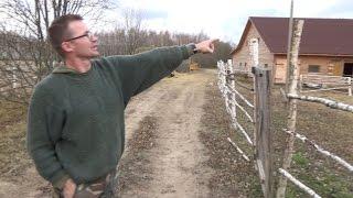«Сумасшедший» швейцарец Йорг Дусс строит под Калугой русскую деревню
