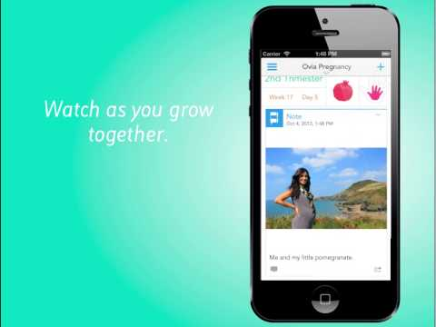 Ovia Pregnancy Tracker by Ovuline for iOS7 (Available Now)