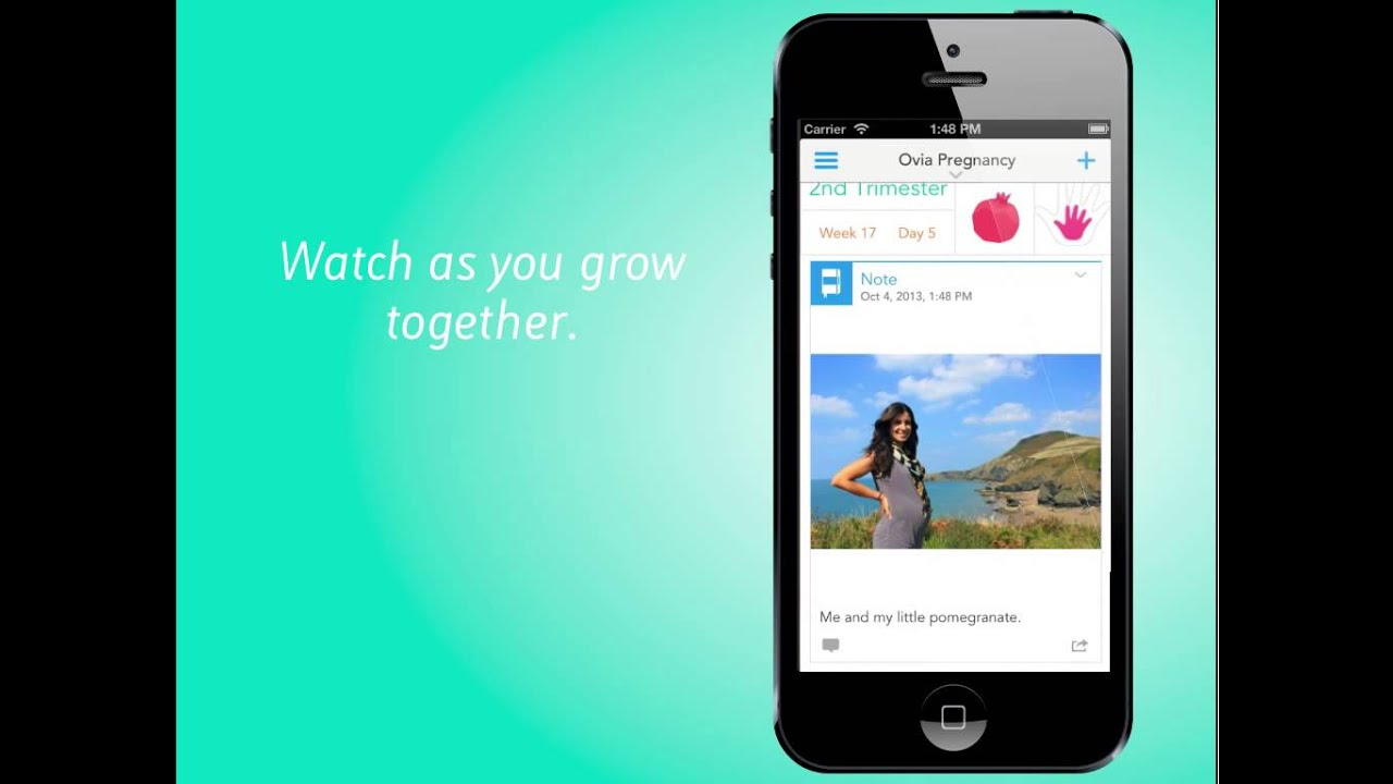 Ovia Pregnancy Tracker By Ovuline For Ios7 Available Now