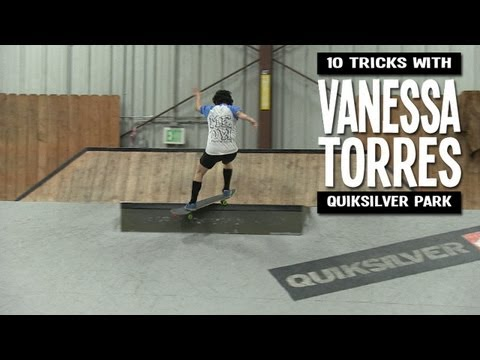 10 Tricks with Vanessa Torres