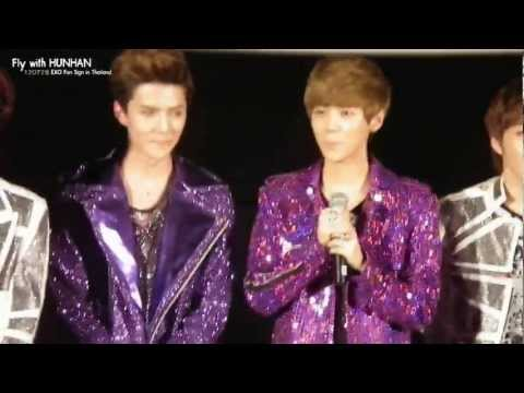[HD] 120728 EXO Fan Sign in Thailand - HUNHAN FOCUS