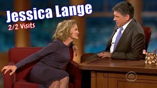 Jessica Lange - Beautiful & Fun - 2/2 Visits In Chronological Order