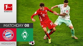 FC Bayern München - SV Werder Bremen   1-1   Highlights   Matchday 8 – Bundesliga 2020/21