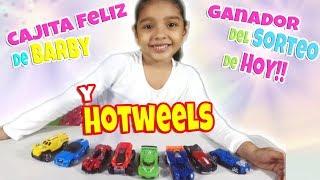 Cajita feliz de Hotwheel y Barbie y Sorteo #rifajuguetesdeallison