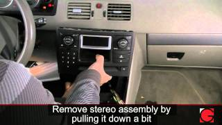 GROM USB iPod Bluetooth Adapter Interface Installation for Volvo XC90 2002-  2006
