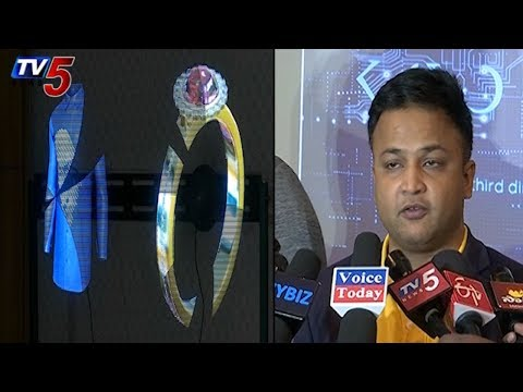 Kryp Media Introduces Holographic Technology In Hyderabad | TV5 News
