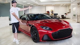 THIS Is Why The NEW 2019 ASTON MARTIN DBS SUPERLEGGERA IS WORTH $300,000!!!