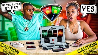 COUPLES LIE DETECTOR TEST (SHE CHEATED ON ME!!!!)