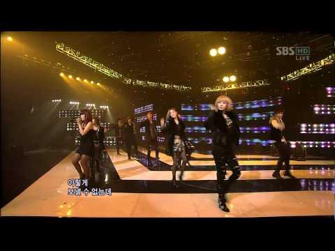 091025 T ara TTL Listen2 SBS Inkigayo