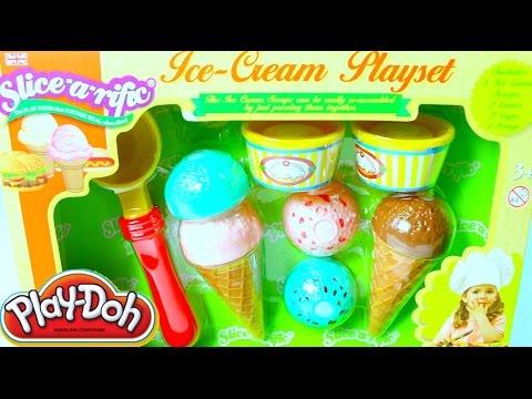 Plastilina Play-Doh Helados | Play Doh Ice Cream Playset Mundo de Juguetes