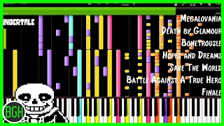 IMPOSSIBLE REMIX - Undertale (Death by Glamour, Megalovania, Battle Against a True Hero)