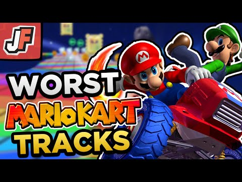 The WORST Courses in EVERY Mario Kart Game!