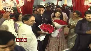 CM KCR Attends Former MP Ponguleti Srinivas Reddy Son Enga..