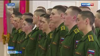 Омским школьникам показали настоящую армейскую жизнь