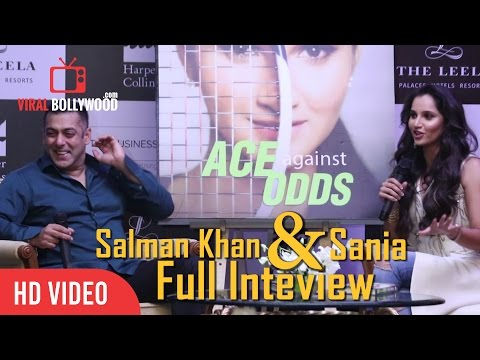 Salman Khan's Full Interview with Sania Mirza - Ace Against Odds Book Launch