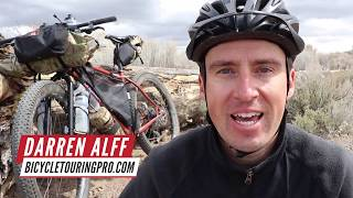BICYCLE TOURING: Being Alone & Getting Lonely