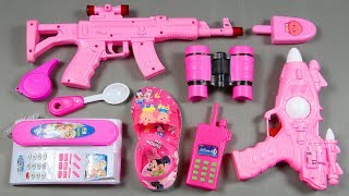 Pink Colors Toys Collection, Toy Guns