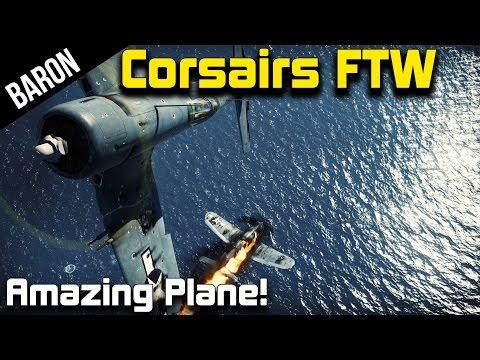 War Thunder F4U Corsair Gameplay - American Beasts!