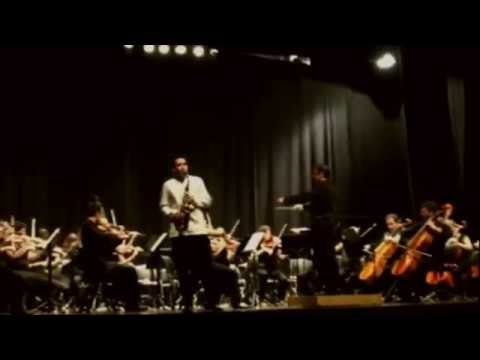 Oblivion. Astor Piazzolla. David Pons Saxophone. Voro García Conductor. Orchestra La Valldigna