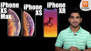 Apple iPhone XS, iPhone XS Max, and iPhone XR (India): Review of specification Price [Hindi-हिन्दी]