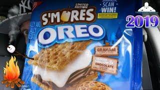 Smores Oreo® Review! | 2019 🔥🍫🍪