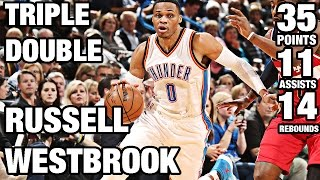 Russell Westbrook 4th Straight Triple Double | 9th of Season |11.30.16