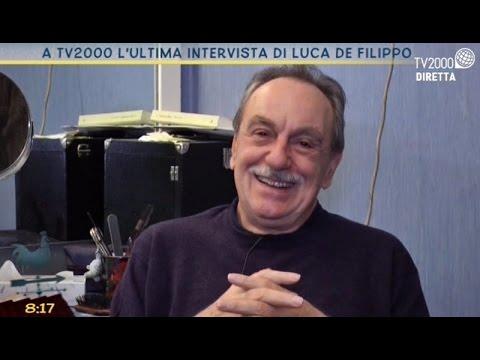 L'ultima intervista a Luca de Filippo