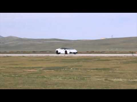 Lamborghini Huracan High Speed Run at Shift-S3ctor Coalinga 2016