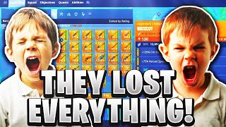 Two Rich Scammers Lose Their Whole Inventory! (Scammer Gets Scammed) Fortnite Save The World
