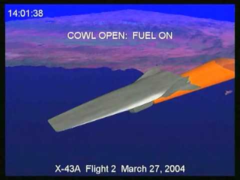 Nasa Goes Hypersonic - X43A Scram Jet ( Update) - YouTube