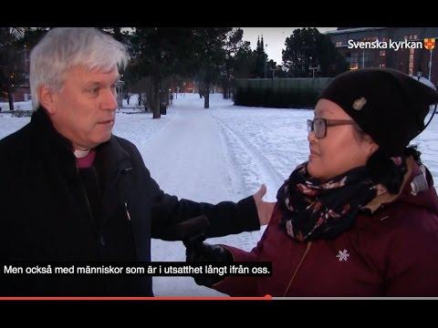 Biskop Hans Stiglund om julen