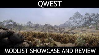 QWEST - Skyrim SE Modlist - Showcase & Review