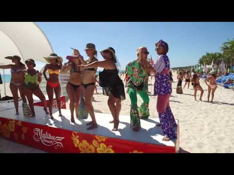Mannequin Challenge at Sandos Playacar Beach Resort