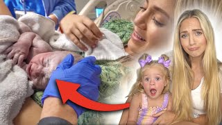 2 Year Old Posie Reacts To Her Birth Video! *SO CUTE*