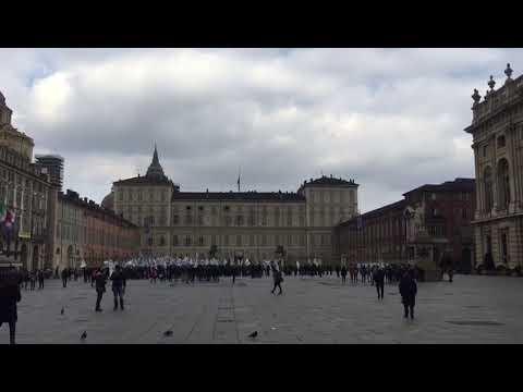 Manifestazione a Torino degli operatori del gioco pubblico italiano