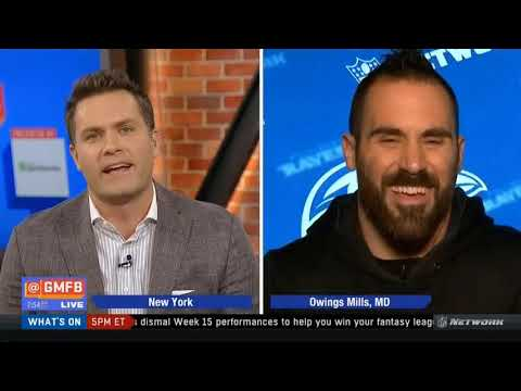 Eric Weddle joins Good Morning Football Today