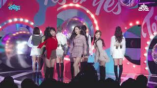 [예능연구소 직캠] 트와이스 YES or YES @쇼!음악중심_20181117 YES or YES TWICE in 4K