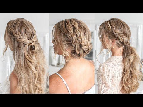 3 Boho Wedding Hairstyles   Missy Sue