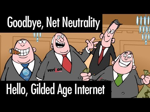 Goodbye Net Neutrality, Hello Gilded Age Internet
