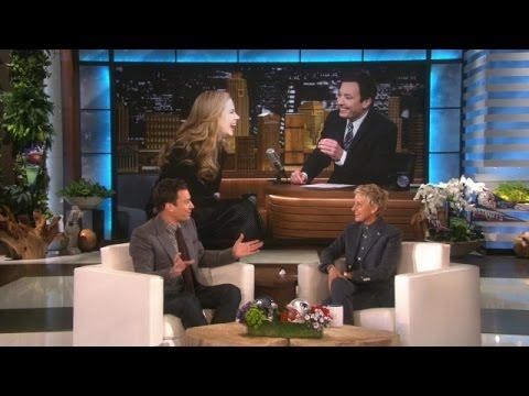Jimmy Fallon on His Date with Nicole Kidman